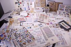 World 1870/1990 - batch of stamps, FDCs, covers etc. in large box.
