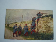 Lot of 59 Military postcards most WW1