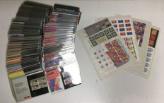The Netherlands 1982/2001 - Stamp booklets and sheets.