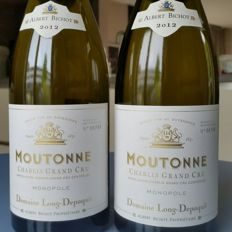 2012 Chablis Grand Cru - La Moutonne - Monopole Domaine Long-Depaquit - 2 bottles