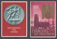 German reich 1874-1944 - collection of 64 propaganda cards, letter, postal stationary, FDC