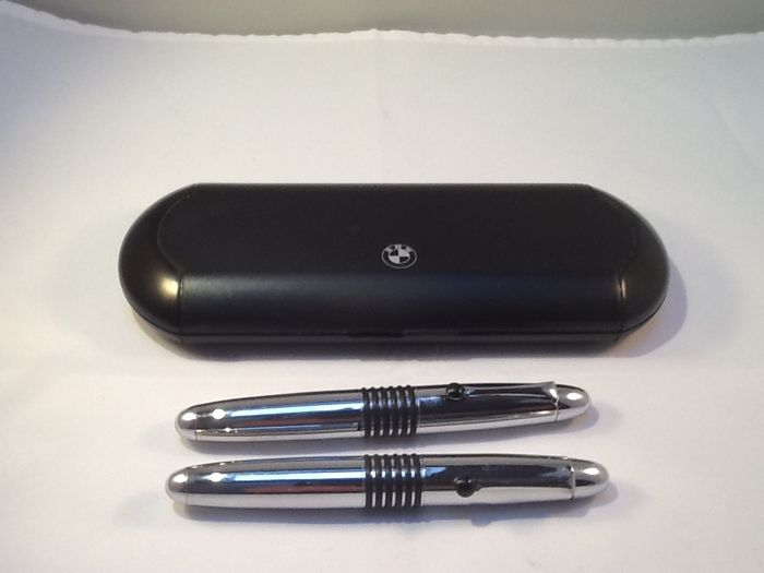 BMW luxury pen set, fountain pen & ballpoint