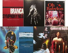 Avantgarde -  electronic ambient, folk, new age - jazz - funk gospel Collection of  7 Albums in  8 LP