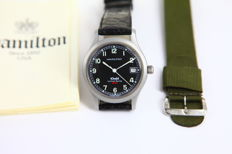 "Hamilton Khaki quartz limited series 50th Anniversary ""The End of World War II"" – watch"