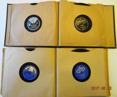 2  Complete Recordalbums with totally 22x 78 RPM records.