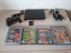 Complete PS2 Console with 3 Crash Games and Yu-Gi-Oh! Capsule Monter Coliseum