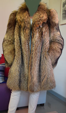 Ganzetti Furrier - Fur coat in Murmasky fox