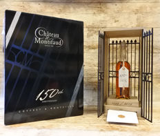 "Chateau de Montifaud 150 year old cognac in Anniversary bottle in luxury ""Cage"""