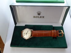 Rolex - triple signed Gents swiss wrist watch. {date made 1930s 40s G} {ref no 121}