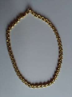 Gold necklace (18 kt / 750) – length 41 cm