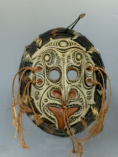 Yam mask - ABELAM TRIBE - North Papua New Guinea