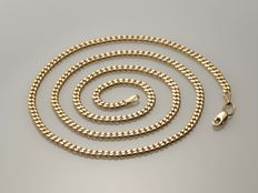 14 kt gold. Chain. Length: 51 cm. No reserve price.