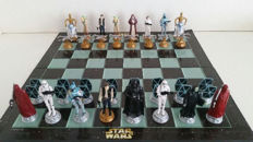 Star Wars 3D chess set