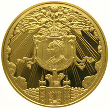 The Netherlands – Medal 'Birth of Queen Juliana' 1909 by J.C. Wienecke – gold