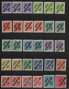 Czechoslovakia & Sweden – Collection of stamps in three albums