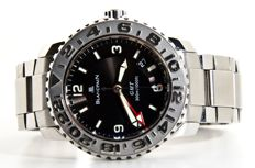 Blancpain — Fifty Fathoms Diver Trilogy GMT — 2250-1130-71 — Heren