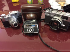 Lot with 3 cameras (3x) - Comet Bencini, canon, bell 14