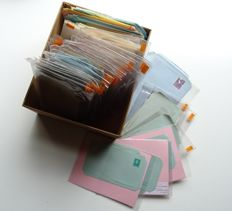 The Netherlands – Batch of ± 900 postal stationeries in a box