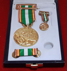 Spain - Official Case from the Great Order of Police Merit Distinctive Red - Original