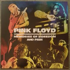 """Pink Floyd  """"Memories Of Boredom And Pain"""" 2 LPS Colored Vinyl  Red &Green"""