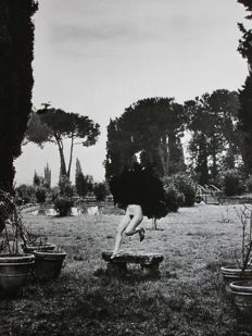 Helmut Newton - Special Collection - In a Garden near Rome - 1977