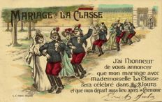 Military Romance/patriotism mostly around WW I-93 x-Mostly French postcards-1914/1925