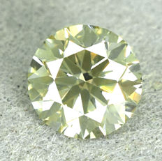 Diamant - 0.78 ct No Reserve Price