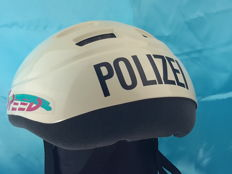 Germany - Helmet of the German Police Bicycle