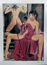 Graphic art; Milo Manara - Aphrodite 5 - late 20th century