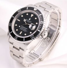 Vintage Rolex Submariner Date | men's watch| 1987 | 16800