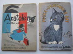 Genia - Pooka the Penthouse Cat & Eve Titus - Anatole and the Cat - 1958 / 1971