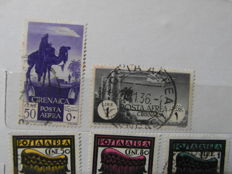 Italian Colonies collection – Complete series and single stamps, from 1860 to 1945.