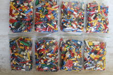 Assorted - 8 kg unsorted Lego