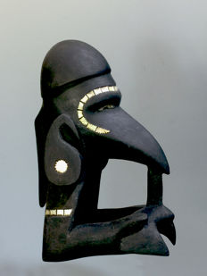 Nguzu figure (Sea God) - NEW GEORGIA ISLAND - Solomon Islands
