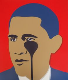 "Pure Evil - ""Crying Obama"" (Red)"