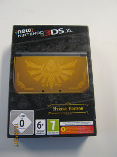 Nintendo 3ds xl(new) special zelda (hyrule) edition,boxed and complete. Like new!!!