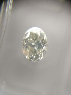 1.25 ct Oval cut diamond G SI2