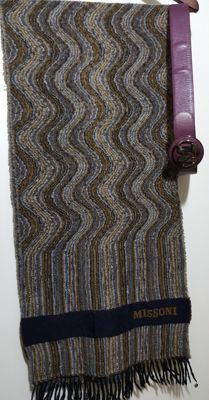 Missoni - Original vintage scarf and belt