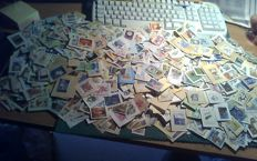 Japan - Batch of more than 2000 stamps