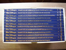 Donald Duck - Donald Duck collectie + Ik / Ich, Donald Duck / Mickey Mouse / Goofy / onkel Dagobert - 7 albums - 19x hc + box - (1973/2009)
