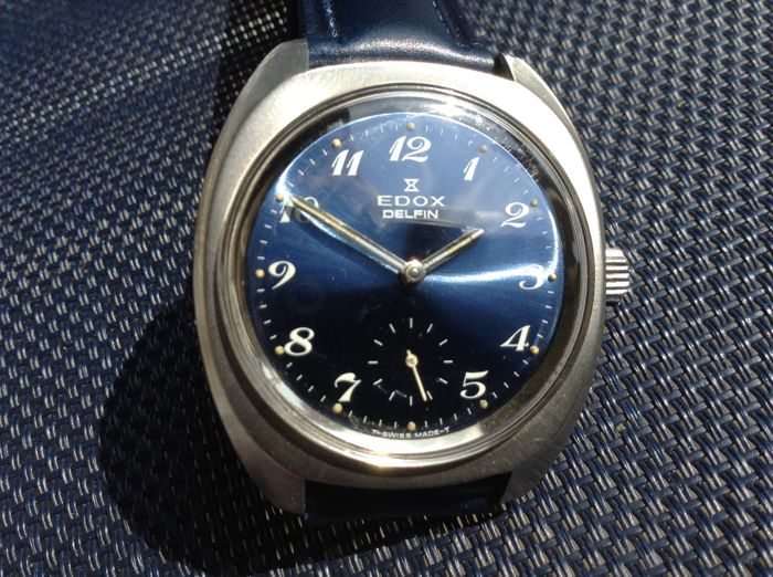 Edox Delfin 20ATM Super Waterproof - Gents Jumbo/Kings size - Approx 60/70's