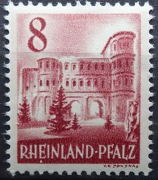French Zone Rheinland-Pfalz 1947/1949 – Complete collection – Michel 1/52