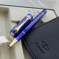 Parker Duofold International Blue GT Rollerball | New Old Stock /  Mint Condition