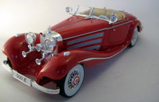 Maisto Premiere Edition - Scale 1/18 - Mercedes-Benz 500K Typ Special roadster 1936 - Red