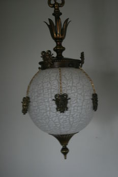 Hall lamp with 9 jesters heads