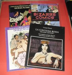 Pichard, Georges - 4x erotic comics volumes in Italian language