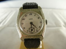 Lanco – unisex silver watch – from the '40s
