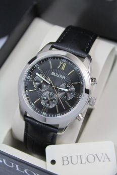 Bulova Chronograph – Men's Wristwatch – New & Mint Condition