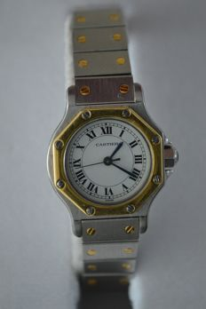 Cartier Santos Octagonal - ladies - 80's