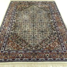 "Indo Bidjar Herati – 235 x 173 cm – ""Oriental rug in natural shades- In beautiful condition"""